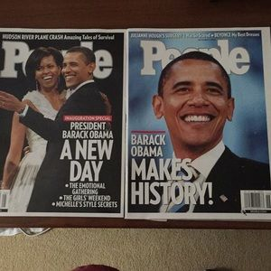 Barak Obama People Magazines